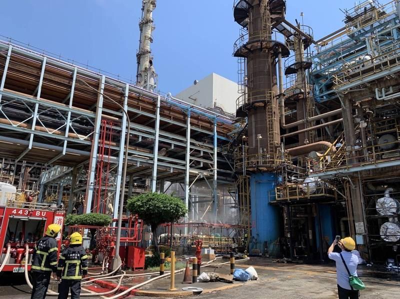 中油大林廠發生氫氣外洩事故,再度引發外界對高雄工安的疑慮。(讀者提供)