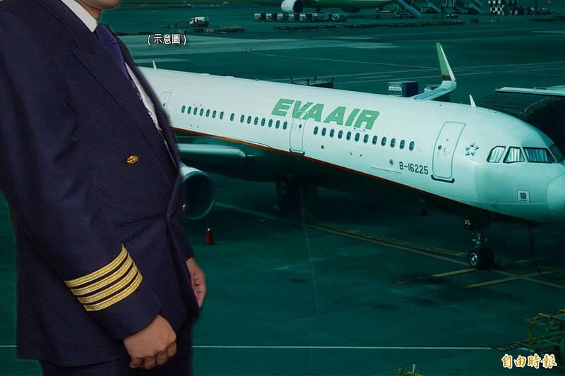 長榮航空林姓機師(案16120)違反防疫規定,交通部民用航空局今日對該機師開罰40萬元,並針對長榮航空督導不周開罰公司200萬元。示意圖。(資料照;本報合成)