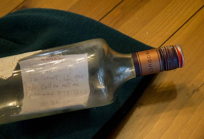 美國9歲男童格雷姆近日撿到37年從日本投放的瓶中信。示意圖,與新聞事件無關。(美聯社)