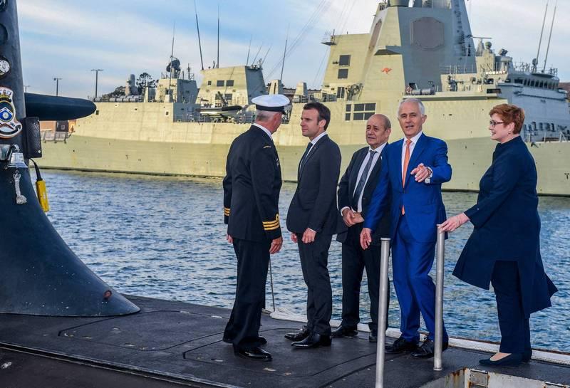 潜舰合约遭「弃单」 华邮:法国因3件事怒不可遏