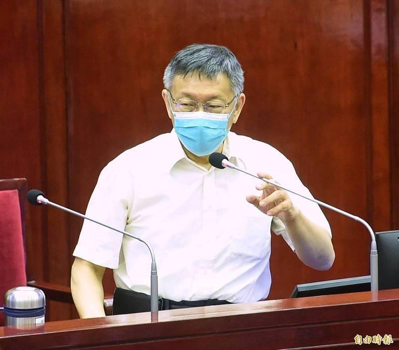 台北市長柯文哲日前為了社宅與中央互槓,民眾黨發言人如今又站出來幫他回擊趙少康小編。(資料照)