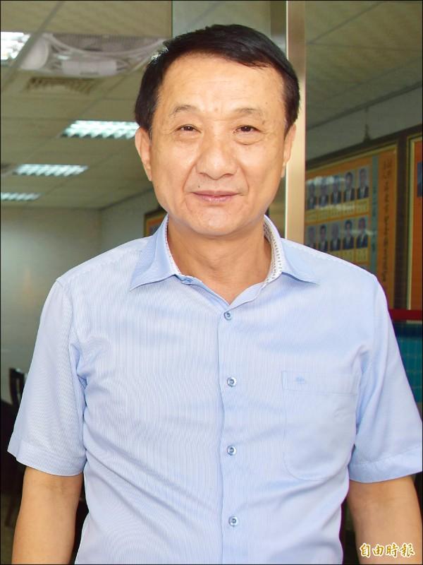 國民黨籍屏東市長林恊松被控詐取公帑案,屏東地院判刑7年。(記者葉永騫攝)