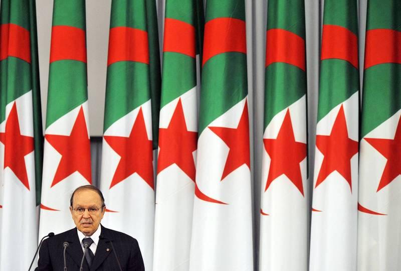 阿爾及利亞前總統包特夫里卡辭世,享壽84歲。(法新社)
