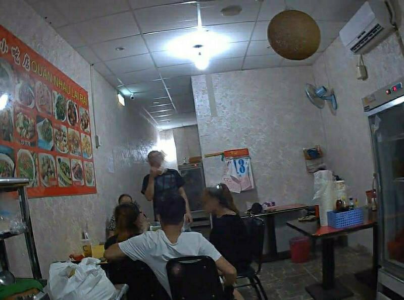 桃園區阿公店轉行做餐飲,未變更營業登記仍屬違規營業。(記者陳恩惠翻攝)