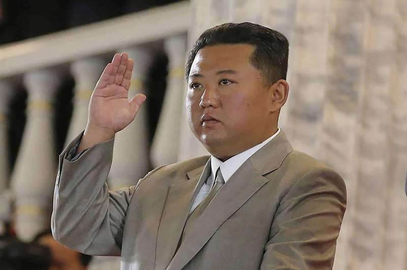 北韓當局對美英澳合作打造核潛艦一事表達不滿。圖為北韓最高領導人金正恩。(美聯社檔案照)
