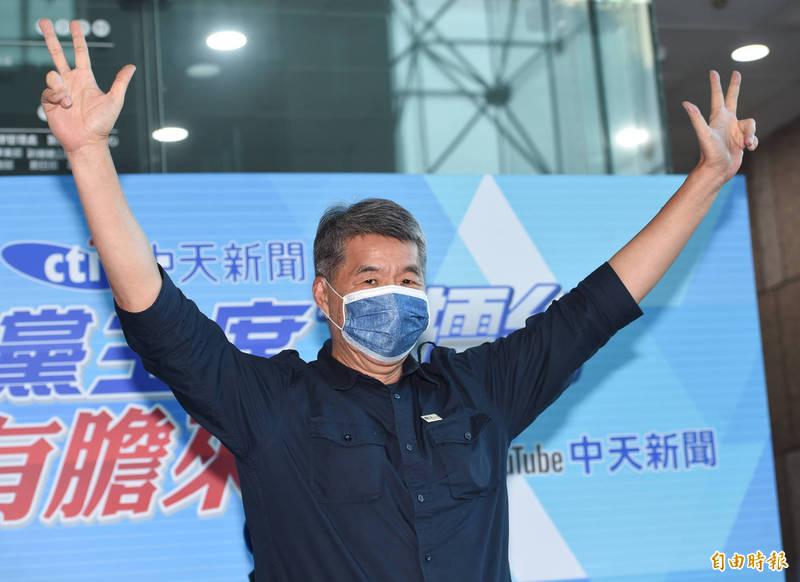 張亞中(見圖)日前受訪表示,他是民進黨最害怕的政治對手,民進黨最害怕他當選國民黨主席。(資料照)