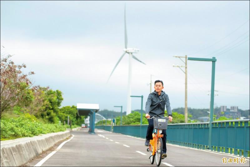 新竹市長林智堅邀請民眾中秋連假來香山濕地走走,可以騎單車、賞夕陽,還可看到彈塗魚等生態。 (資料照,記者洪美秀攝)