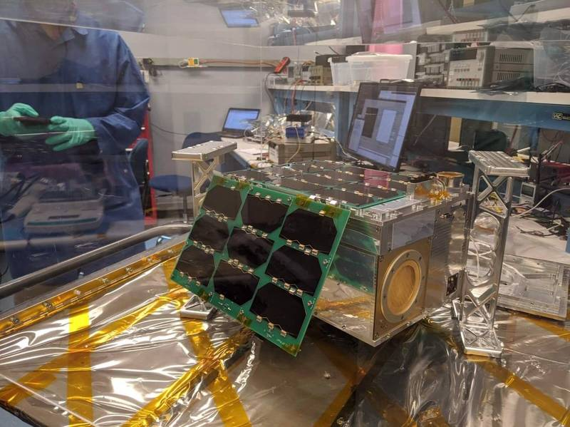 「INSPIRESat-1」衛星。(University of Colorado LASP. 提供)