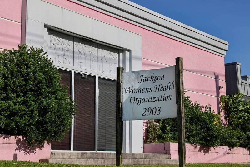 美國傑克遜婦女健康組織(見圖),為密西西比州內唯一的人工流產診所。(路透)