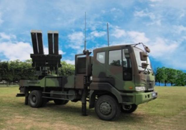 中科院研製的陸射二飛彈系統,將參與今年國慶大會國防武力展示活動。(圖:取自中科院官網)