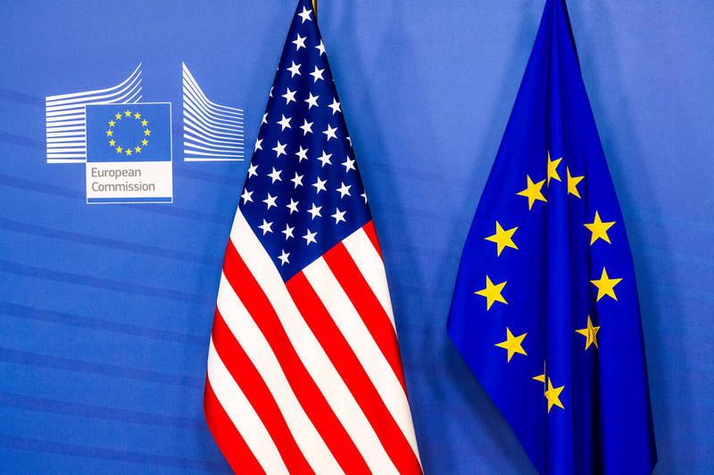 歐盟批評美英澳同盟背信法國。(彭博)