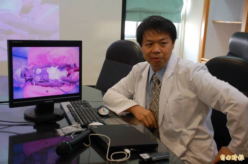 施景中(見圖)接到廖基元來電,表示花蓮一名孕婦懷有患先天性心臟病的胎兒,提早陣痛,要北送生產。(資料照)