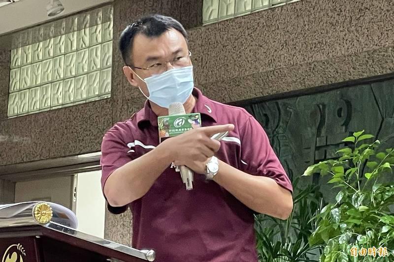 農委會主委陳吉仲強調,搞雙標的是中國不是台灣。(資料照)