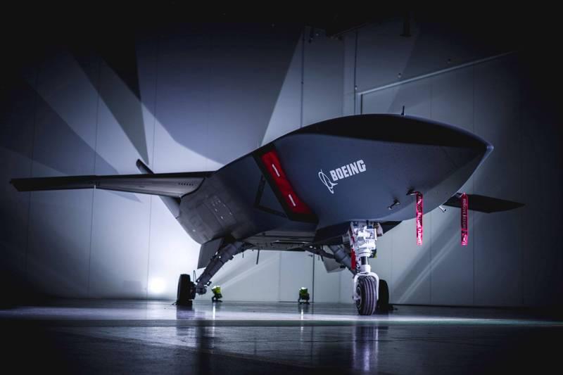 波音公司當地時間22日宣布將在澳洲建總組裝廠,圖為澳洲空軍無人機「忠誠僚機」。(路透社)