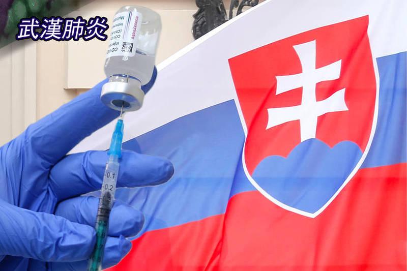 斯洛伐克宣布贈台灣16萬劑疫苗明天啟運。(歐新社;本報合成)