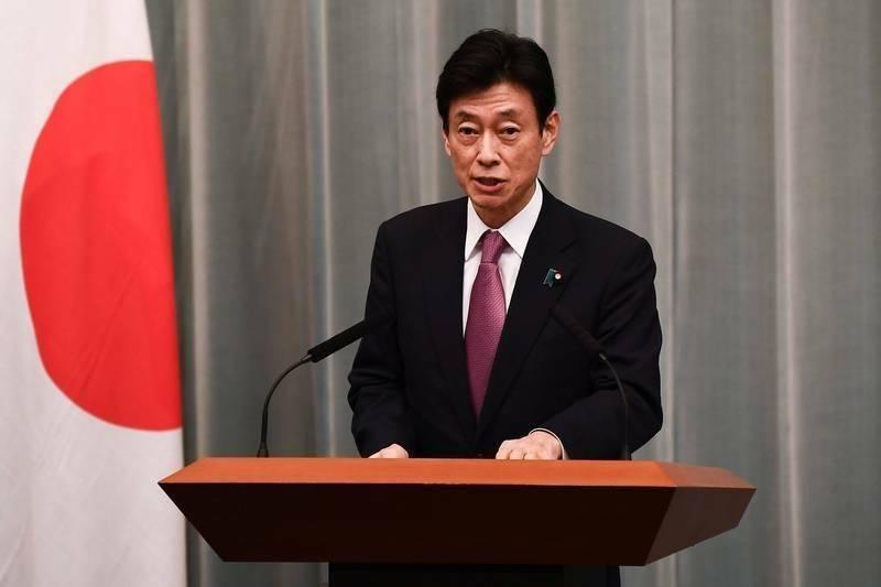 日本經濟再生大臣西村康稔(見圖)今日表示,支持台灣加入CPTPP。(法新社)