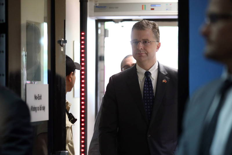 美國資深外交官康達(Daniel Kritenbrink)將任國務院亞太助卿。(歐新社)