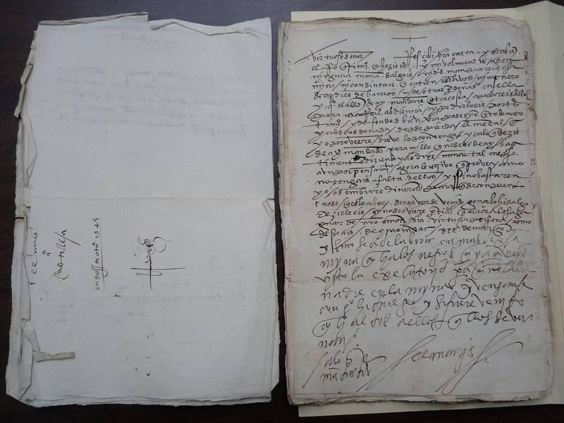 墨西哥外交部在當地時間23日表示,在某拍賣會找到16世紀的寶貴手稿,其中包括當時中南美洲的西班牙殖民者埃爾南·科爾特斯(Hernan Cortes)的手稿。(路透)