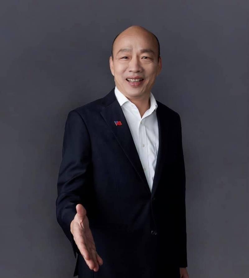 韓國瑜呼籲黨主席候選人,莫學蜘蛛各結網,要學蜜蜂共釀蜜。(記者王榮祥翻攝)