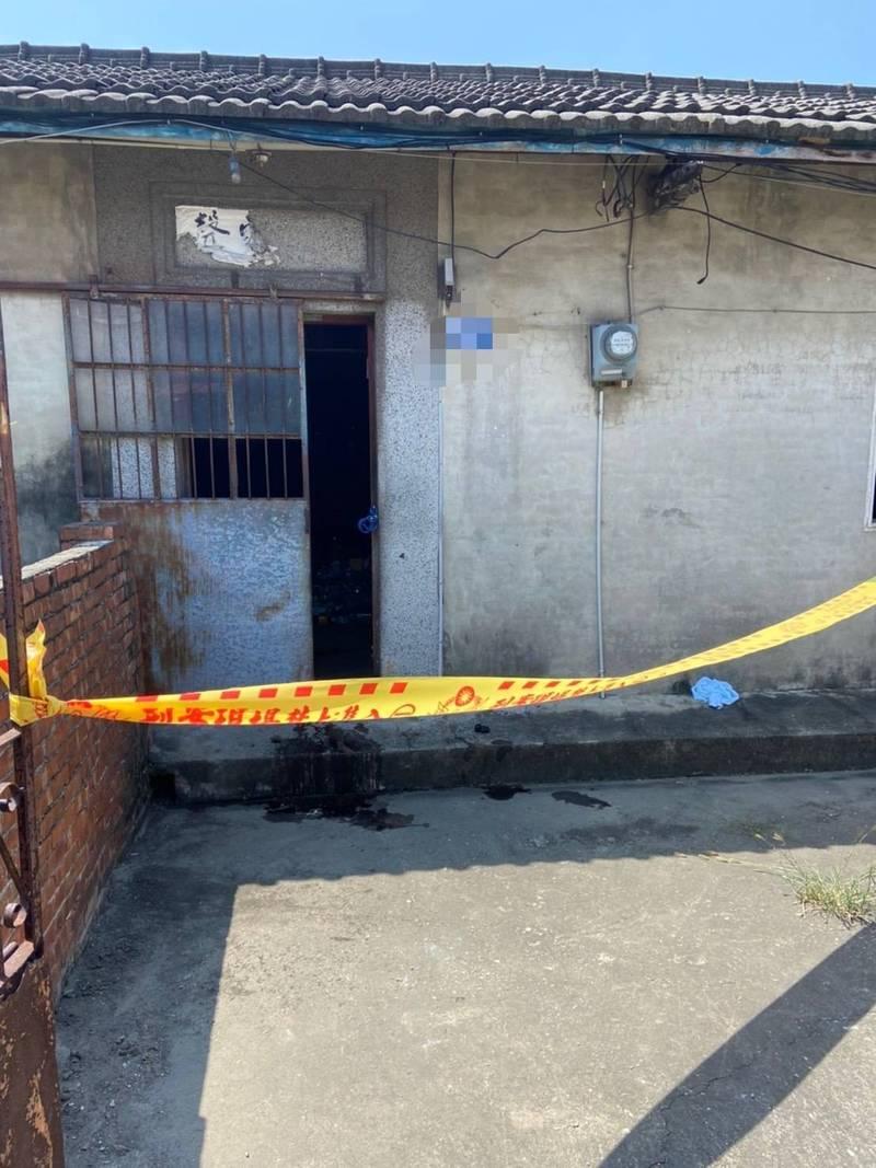 台中市大甲區一處三合院發生男子倒地死亡事件。(民眾提供)