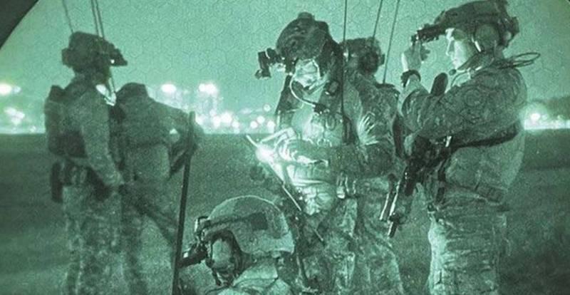 美軍罕見釋出針對北韓領導人金正恩的「斬首行動」演習畫面。(圖取自駐韓美軍特戰司令部)