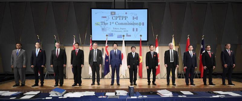 針對台灣申請加入CPTPP,佐藤正久表示,為了不讓供應鏈出現空白,台灣加入意義重大。(歐新社檔案照)