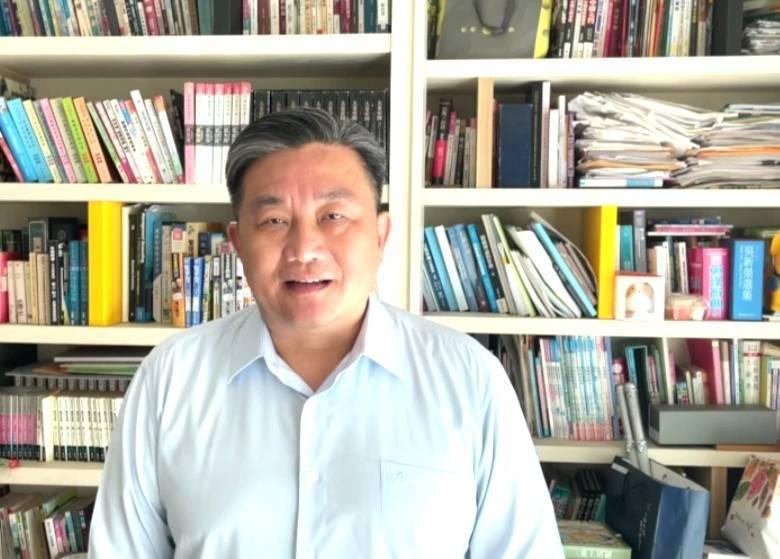 民進黨立委王定宇批評朱立倫給習近平的回電,竟然將「中華民國」拿掉。(圖由王定宇提供)