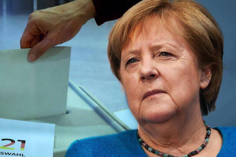 德國4年1度的聯邦議會大選26日登場。(本報合成)