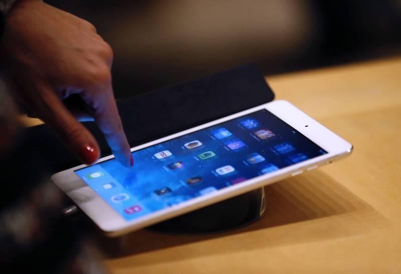男子拿走同事iPad意圖暗槓,雙方以10萬和解,台中地院判罰2000元,緩刑2年。(資料照,法新社)