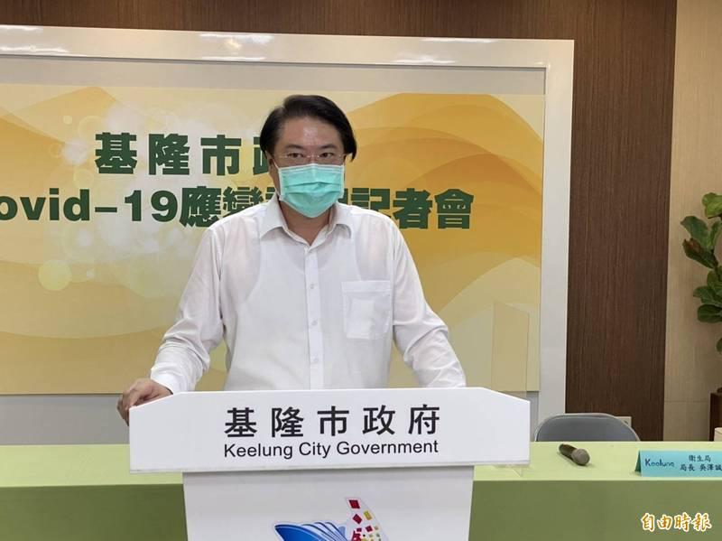 基隆市長林右昌今天說,造成兩岸關係緊張的原因,並不是台灣,而是中共對於台灣有所圖謀。這是全世界的共同理解與認知,破壞現狀、侵犯到台灣的安全,始作俑者是中共政府,不是台灣!(記者俞肇福攝)