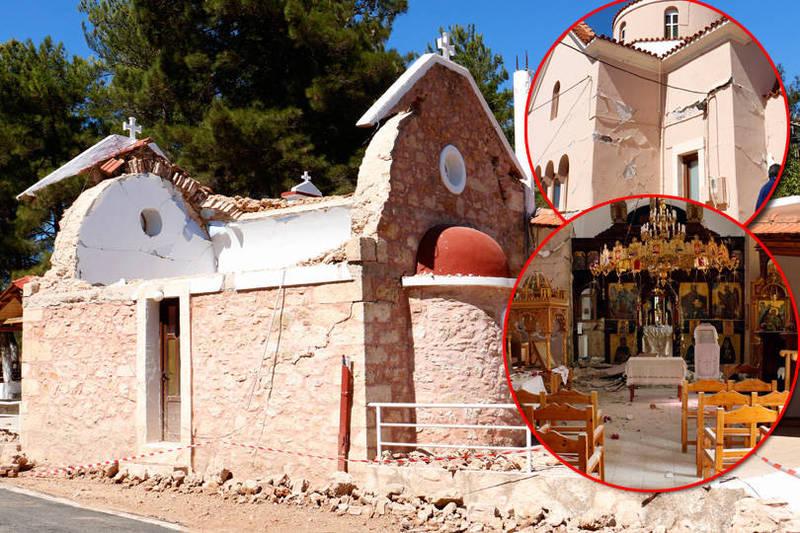 截至目前為止,這場地震在當地已知造成1死9傷。(歐新社,本報合成)