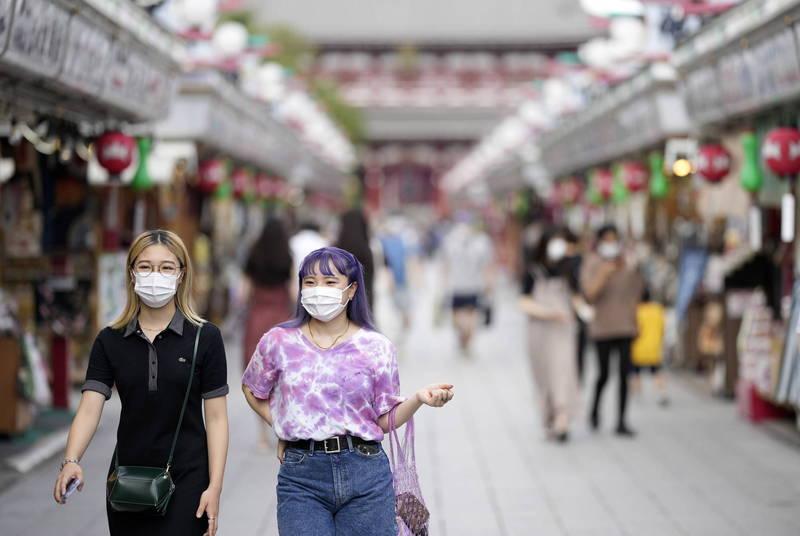 日本東京都27日新增154例武肺確診,單日新增病例睽違半年再度降回200例以下。(歐新社資料照)