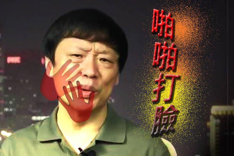 胡錫進被中國網友諷「自打臉」。(圖取自微博,本報合成)