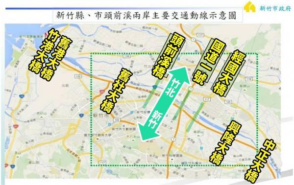 新竹市議員李妍慧指出,新竹縣市若順利合併升格,應立即規畫輕軌計畫,以解決交通阻塞問題。(李妍慧提供)