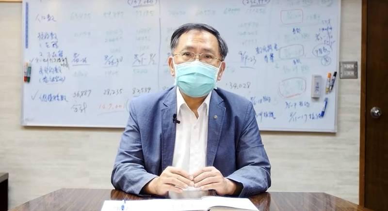 台北副市長蔡炳坤今表示,第3批校園BNT疫苗延遲配發,導致北市19校、1.3萬名學生接種時間將延至10月9日以後。(圖由台北市政府提供)