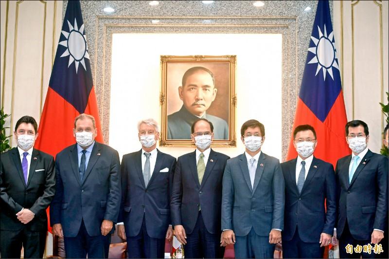 法參議員李察:這個國家就叫台灣