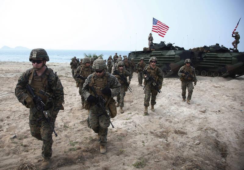 英媒:美軍駐台不是秘密 「曝光時機」才是重點