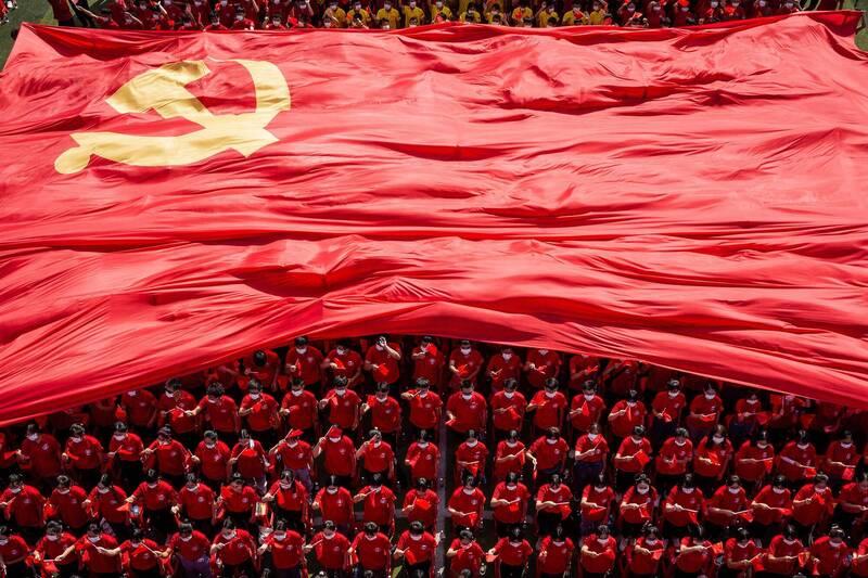 德國學者海妮格分享自己在中國任教經驗,直言想與中國「平等合作」不可能。(法新社)