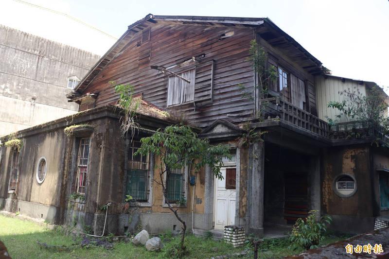 宜蘭市陳土金醫師宅,被申請登錄為指定古蹟,文化局啟動審議程序。(記者林敬倫攝)