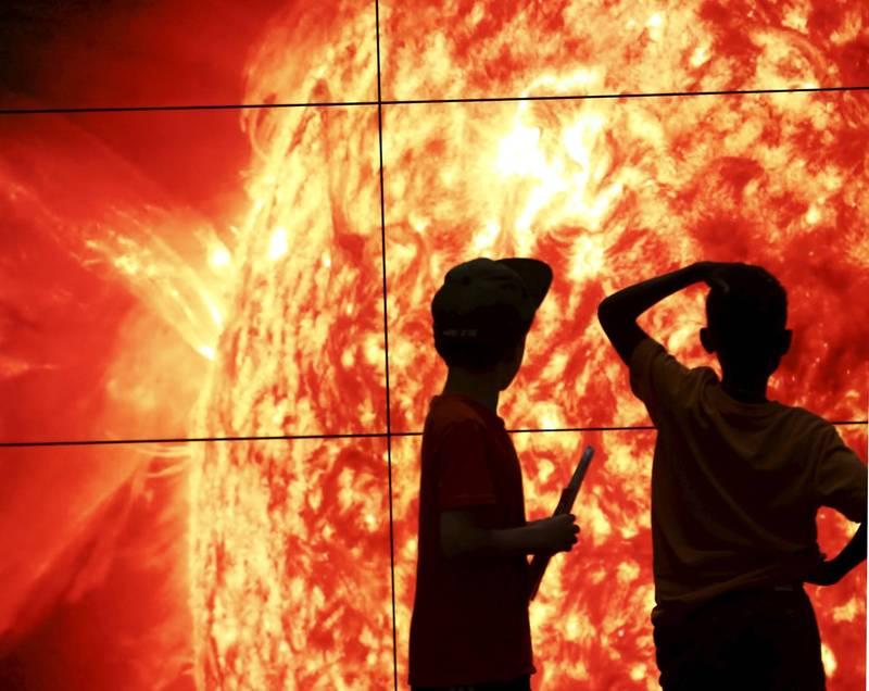 太陽將在50至60億年後死亡,對太陽系造成重大衝擊。(路透)