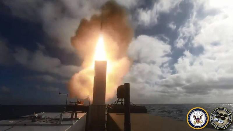最具潜力武器!美海军无人舰成功试射SM-6飞弹