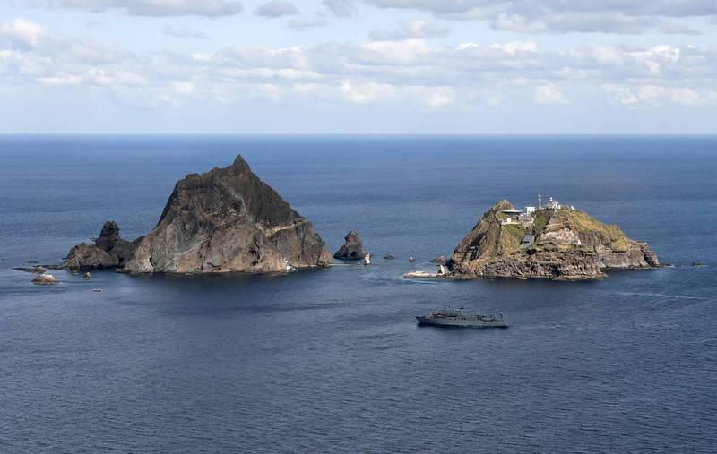 独岛海域传渔船翻覆 6人下落不明、2中国船员获救