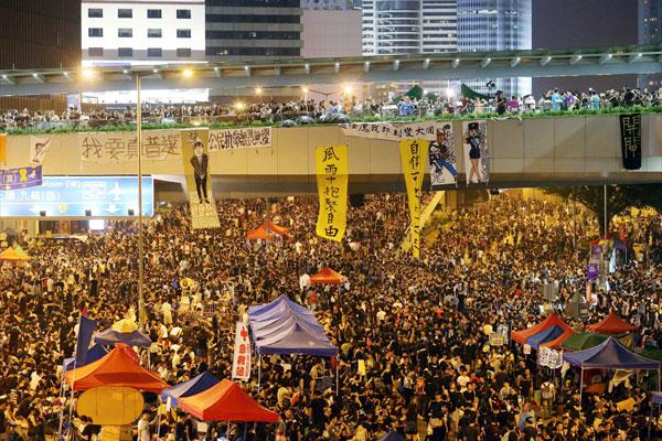 香港佔中事件