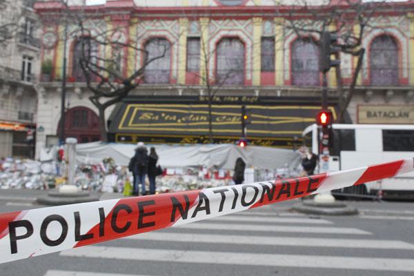 巴黎恐攻震驚全球