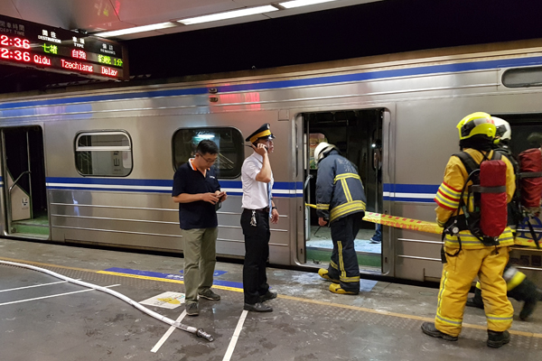台鐵列車爆炸 松山夜驚魂