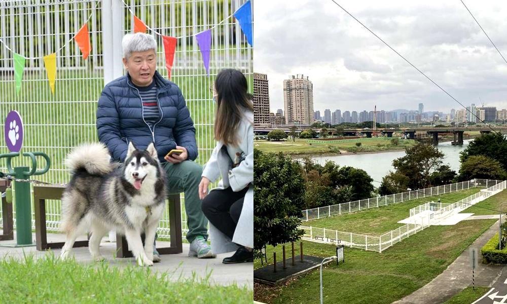古亭河濱狗狗活動區開放了!台北8處「寵物公園地圖」市區就能快樂奔跑