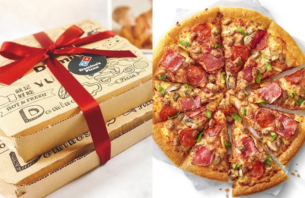 披薩「跨店隨取優惠」囤起來!必勝客6個大比薩45折、達美樂10個只要2000元