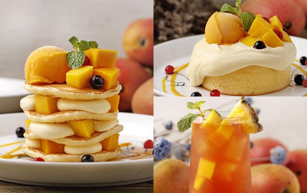 今年第一波芒果季甜點來了!「芒果奶霜厚鬆餅、冰淇淋聖代」8款必吃新品