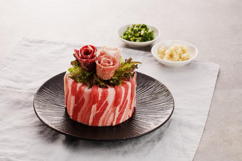 原燒露營風燒肉插旗宜蘭!4吋燒肉蛋糕免費吃