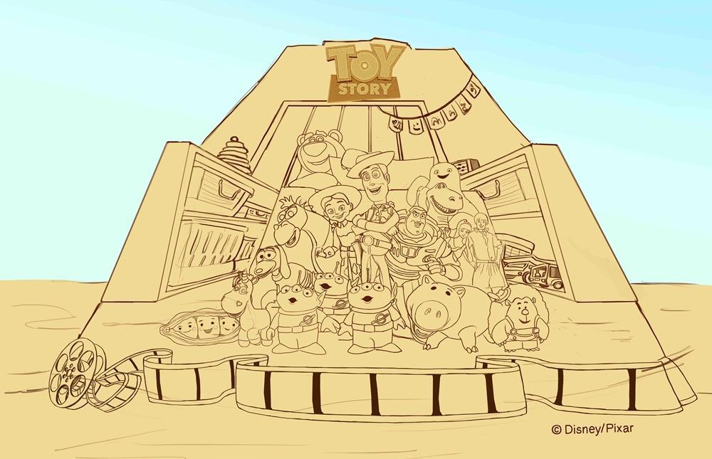 福隆沙雕季×皮克斯動畫 5 月登場!45座作品「玩具總動員、怪獸大學」全員到齊